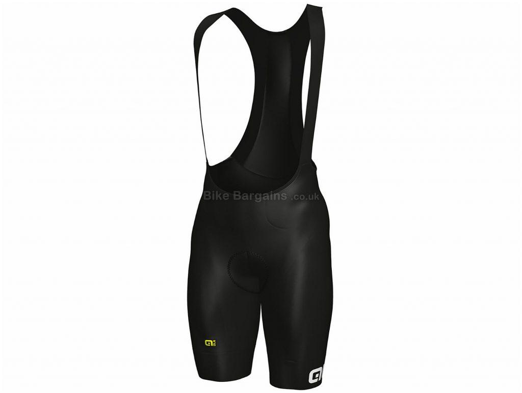 Ale Fusion HD Bib Shorts XXL, Black, White, Breathable, Men's, Polyamide, Elastane