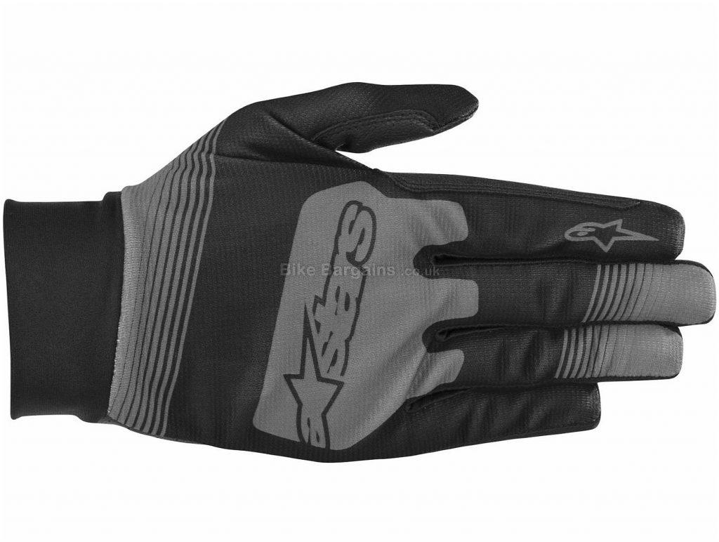 Alpinestars Teton Plus Gloves S, Red, White, Breathable, Full Finger, Men's, Polyester, Polyamide, Polyurethane, Elastane