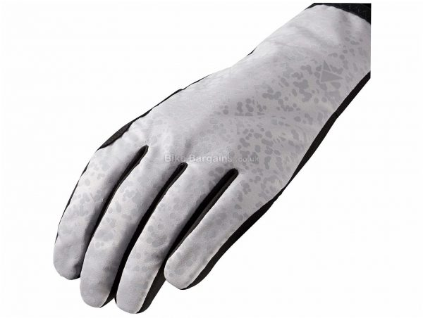 Altura Firestorm Gloves XS,S,XL,XXL, Black, Grey, Touchscreen Compatible, Full Finger, Men's, Suede, Polyester