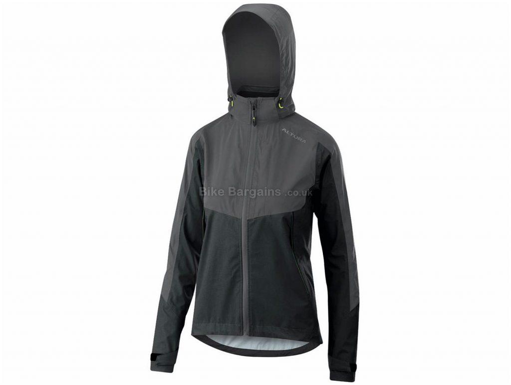 Altura Ladies Nightvision Thunderstorm Jacket 8, Blue, Grey, Purple, Red, Removable Hood, Long Sleeve, Polyamide, Polyester, Elastane