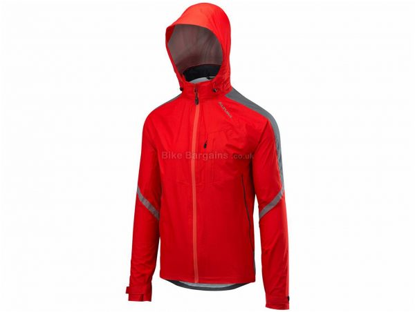 Altura Nightvision Cyclone Jacket S, Grey, Casual Fit, Waterproof, Breathable, Long Sleeve, Polyamide, Polyester, Elastane
