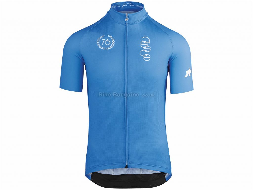 Assos Fortoni Short Sleeve Jersey XS, Green, Highly Breathable, Men's, Short Sleeve, Polyamide, Elastane, Polyester