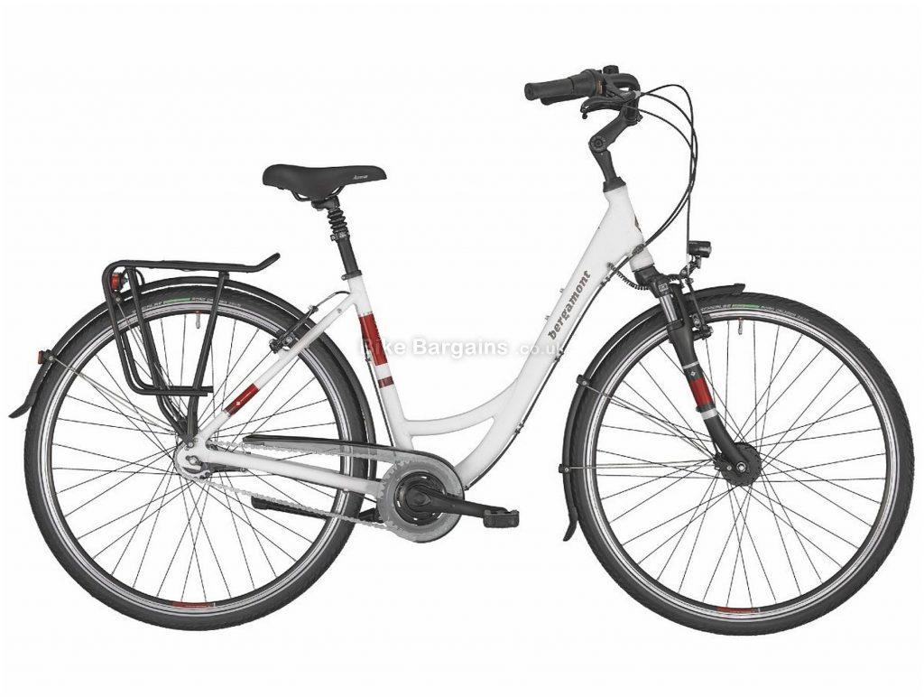 Bergamont Belami N7 Step Through Ladies Alloy City Bike 2020 52cm, White, Alloy Frame, 7 Speed, Caliper Brakes, 700c Wheels, Hardtail, 17.4kg