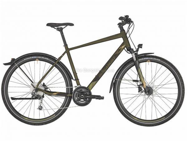 Bergamont Helix 6 Equipped Alloy City Bike 2020 52cm, Green, Alloy Frame, 18 Speed, Caliper Brakes, 700c Wheels, Hardtail, 15.8kg