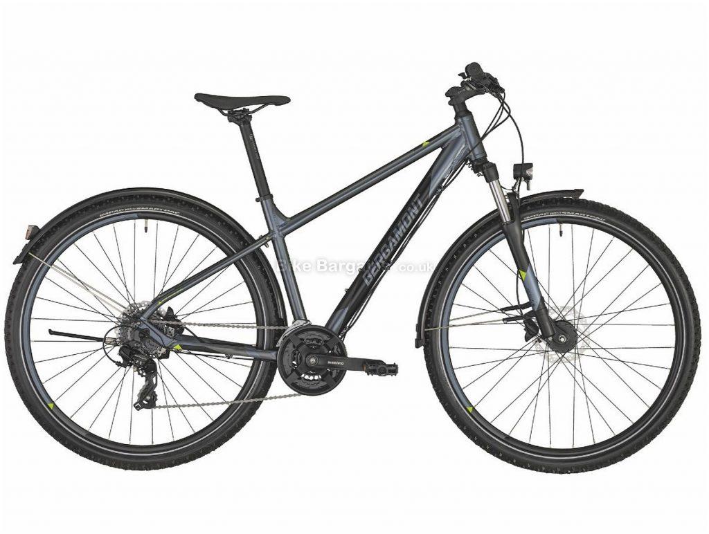 "Bergamont Revox 3 27.5 Alloy Hardtail Mountain Bike 2020 S, Silver, Blue, Alloy Frame, 24 Speed, Disc Brakes, 27.5"" Wheels, Hardtail, 16.3kg"