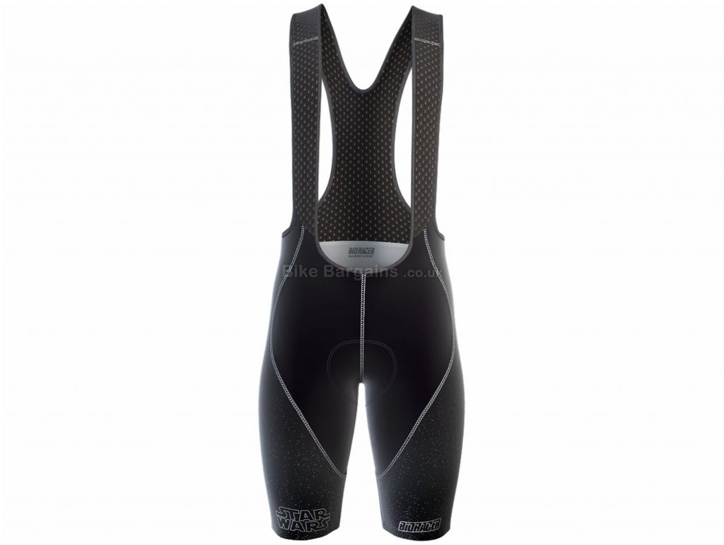 Bioracer Ladies Star Wars Epic Bib Shorts L, Black, Female Specific Design, Ladies, Polyamide, Elastane