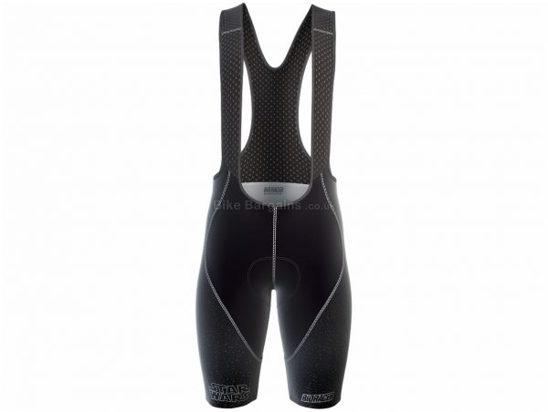 Bioracer Ladies Star Wars Epic Bib Shorts L, Black, Female Specific Design, Ladies, Polyamide, Elastane