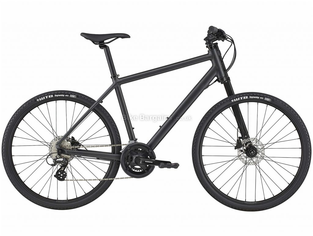 Cannondale Bad Boy 3 Alloy City Bike 2020 S, Black, Alloy Frame, Disc, 16 Speed, Double Chainring, Hardtail