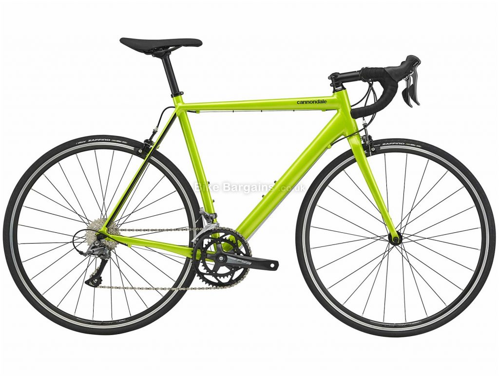 Cannondale Caad Optimo Claris Alloy Road Bike 2020 51cm, Green, Alloy Frame, 16 Speed, Caliper Brakes, 700c Wheels