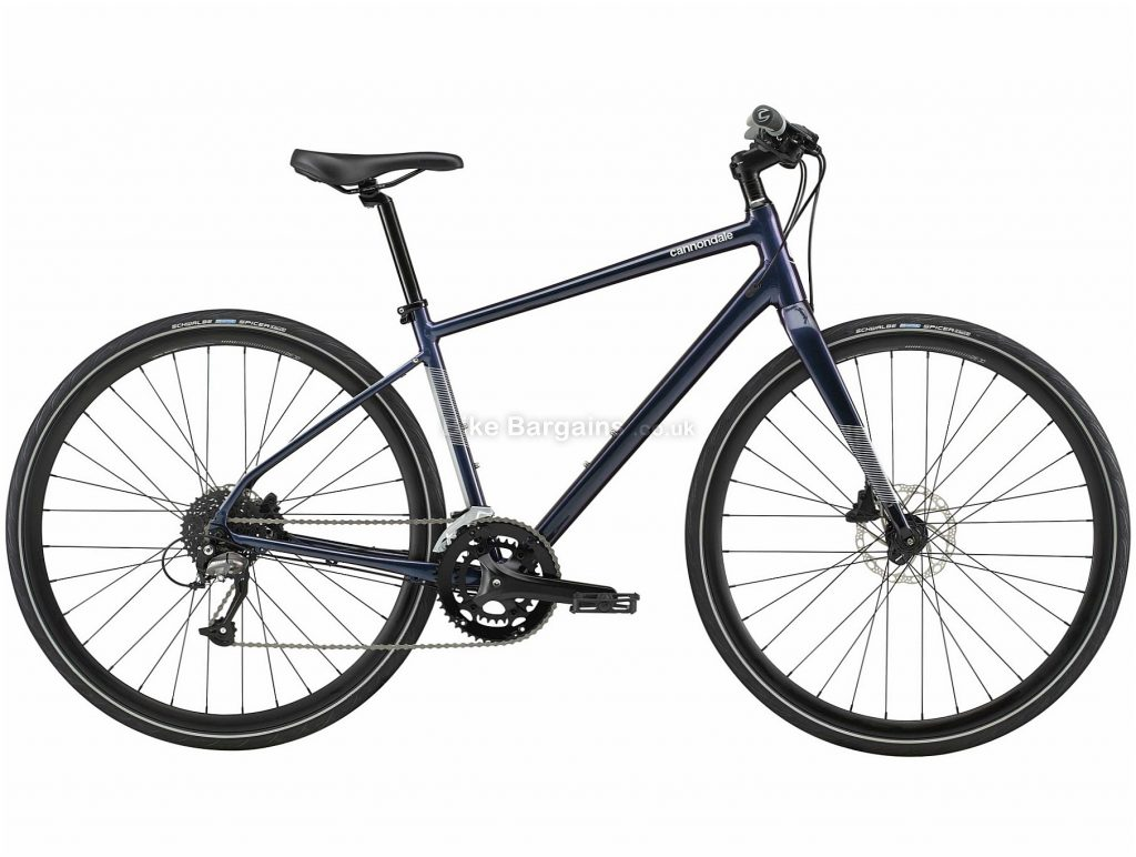 Cannondale Quick 3 Alloy City Bike 2020 S,M,L, Black, Alloy Frame, Disc, 18 Speed, Double Chainring, Hardtail, 11.14kg