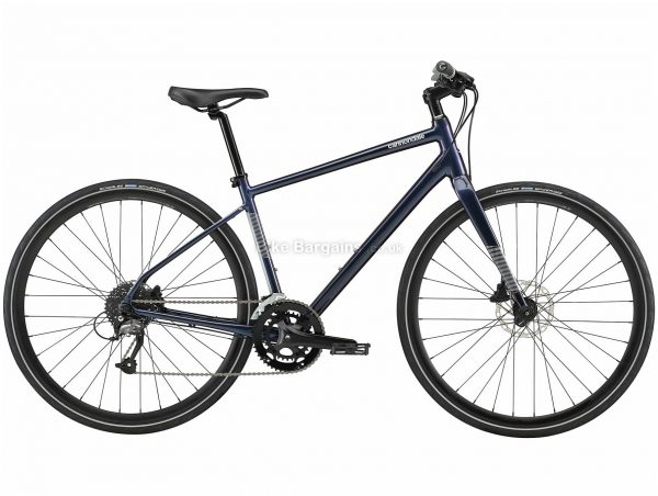 Cannondale Quick 3 Alloy City Bike 2020 S,M,L, Black, Alloy Frame, Disc, 18 Speed, Double Chainring, Hardtail, 11.14kg