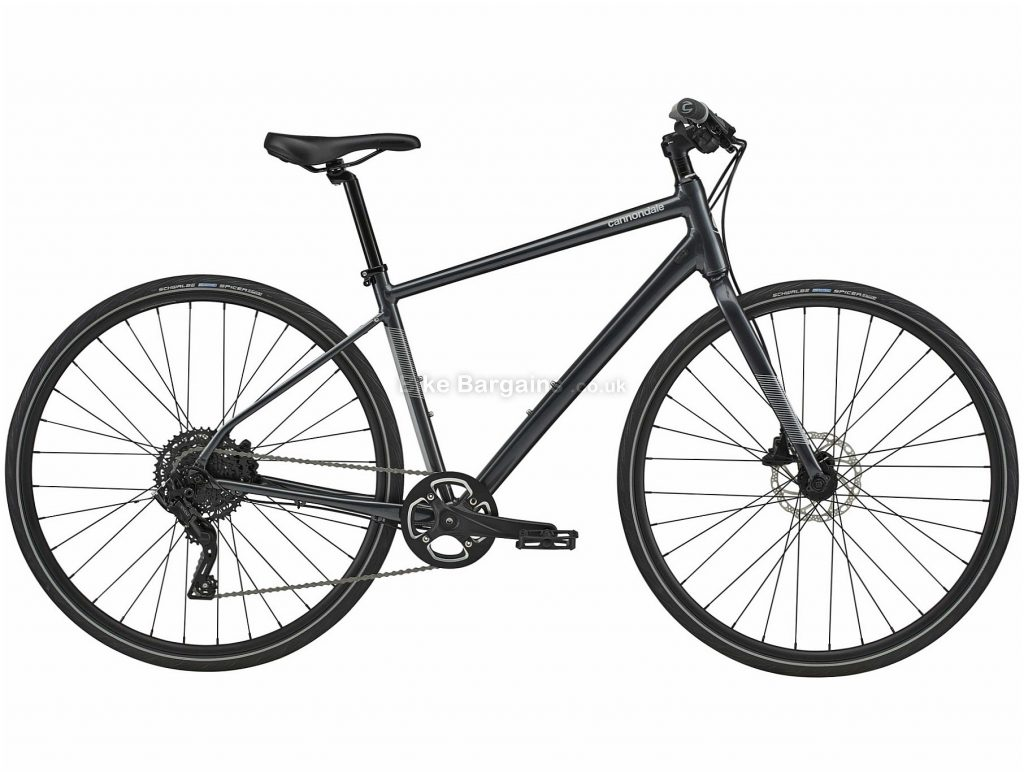 Cannondale Quick 4 Alloy City Bike 2020 M, Black, Alloy Frame, Disc, 9 Speed, Single Chainring, Hardtail, 11.56kg