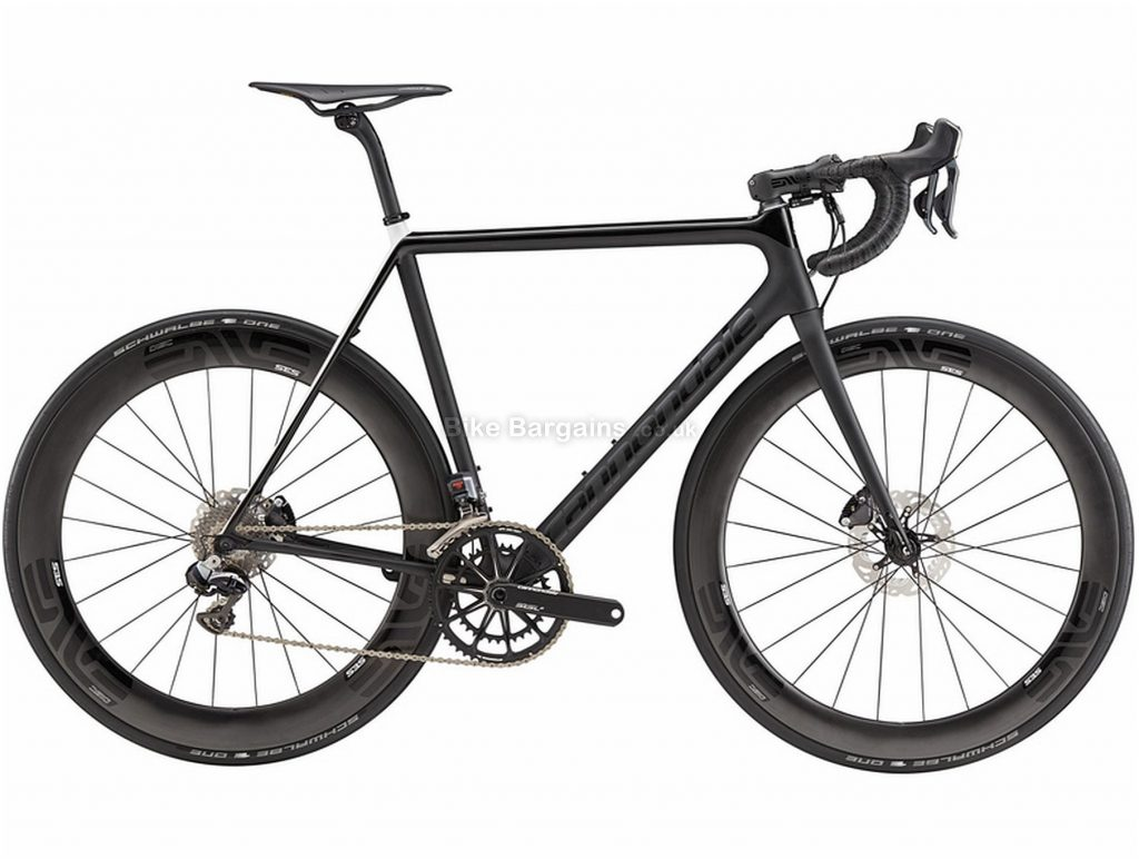 Cannondale SuperSix EVO Disc Carbon Road Bike 2018 54cm, Black, Carbon, 700c, Double Chainring, 11 Speed, Disc
