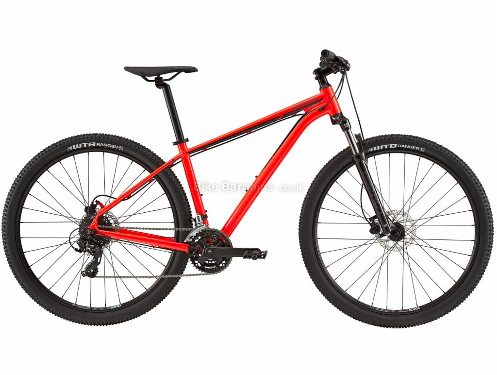 Cannondale Trail 7 Limited Alloy Mountain Bike 2020 XS, Red, Alloy Frame, Disc, 27 Speed, Triple Chainring, Hardtail