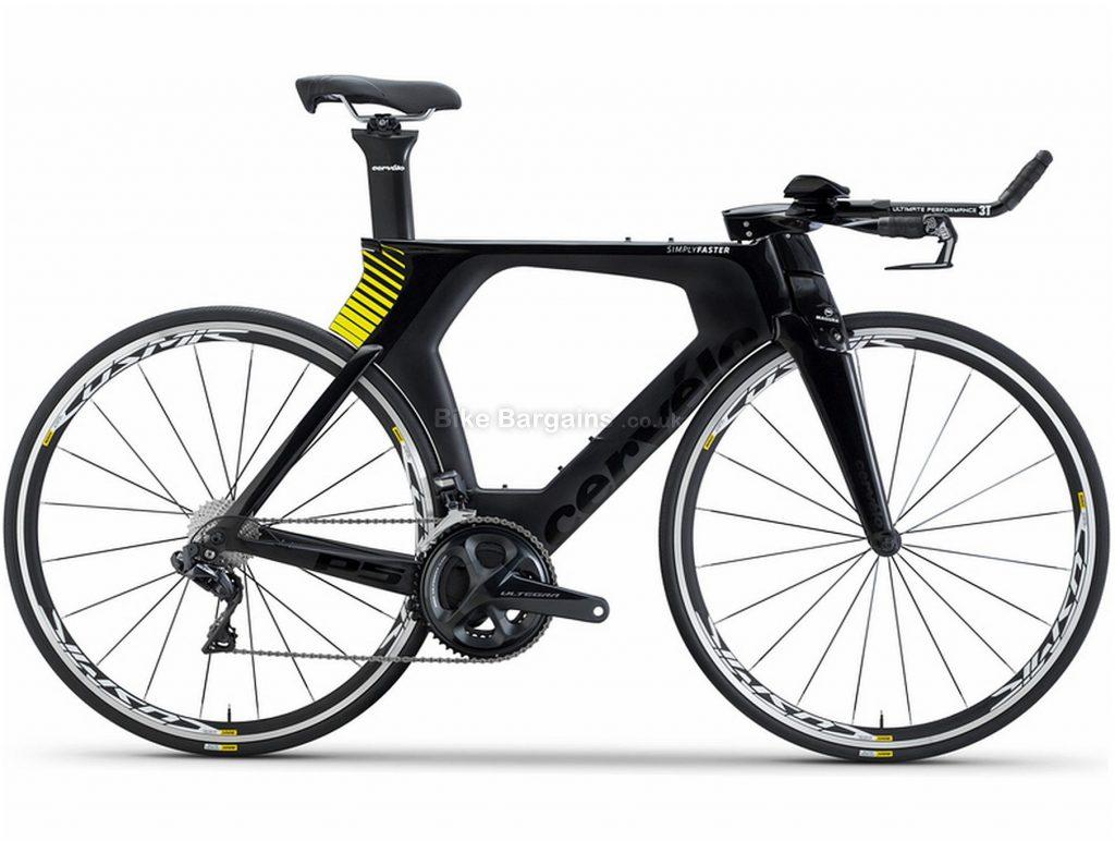 Cervelo P5 Ultegra Di2 Carbon Road Bike 2018 48cm, Black, Carbon, 700c, Double Chainring, 11 Speed, Caliper Brakes