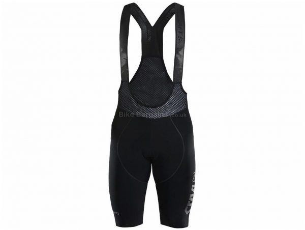 Craft CTM Thermal Bib Shorts L, Black, Water-Repellent, Men's, Polyester, Elastane