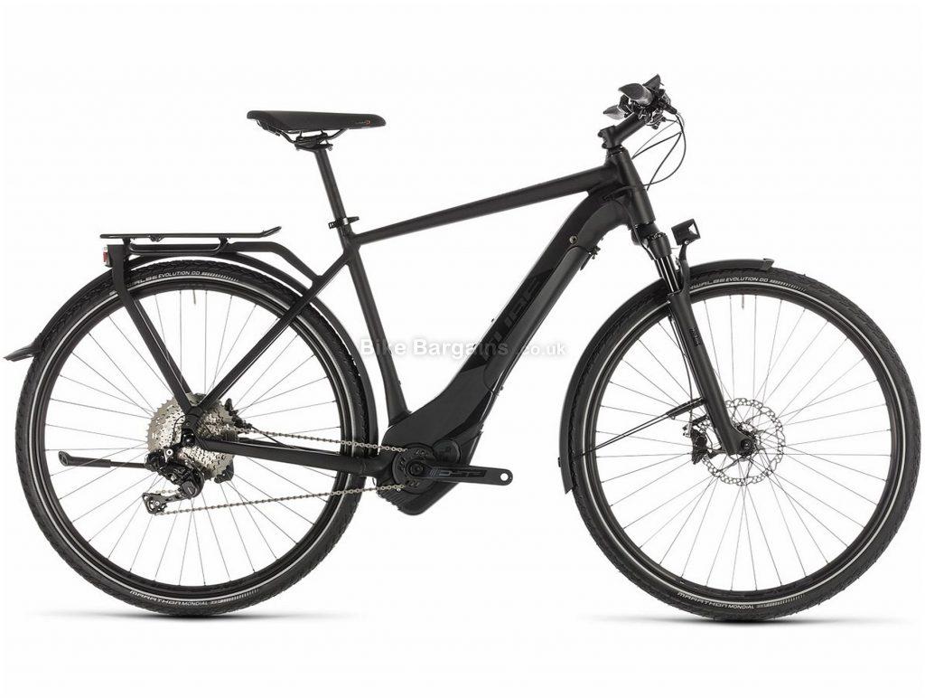 Cube Kathmandu Hybrid SL 500 Electric Hybrid Bike 2019 62cm, Black, Alloy, 700c, Disc, 11 Speed, Single Chainring