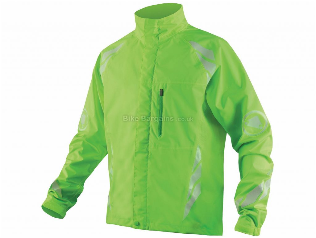 Endura Luminite DL Jacket S, Green, Waterpoof, Breathable, Long Sleeve, Polyester