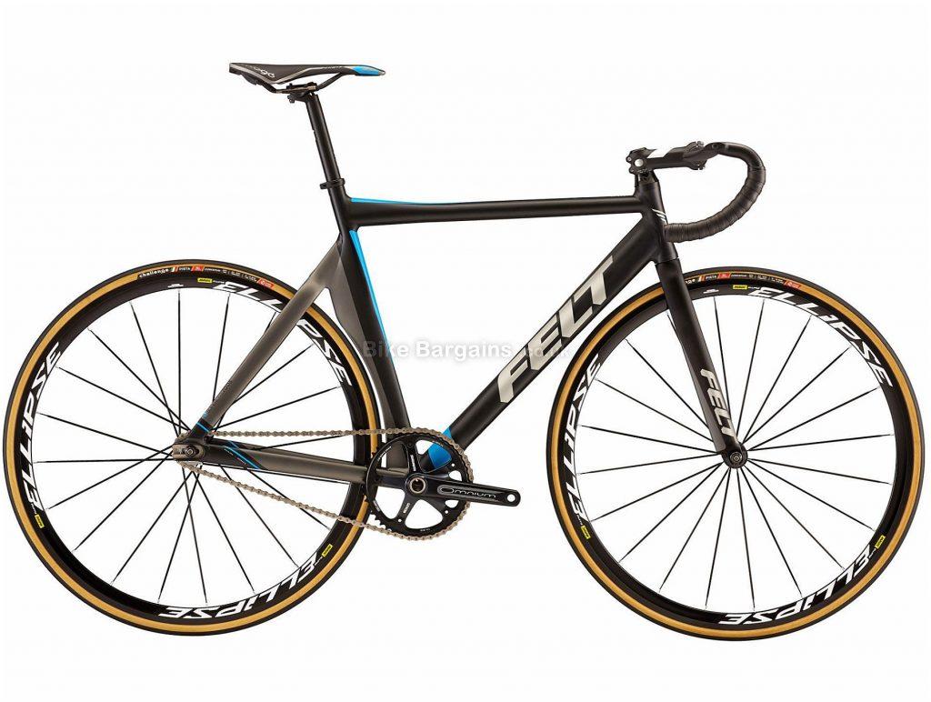 Felt TK2 Alloy Track Bike 2019 54cm, Black, Alloy Frame, 700c, Single Speed, Single Chainring, 7.4kg