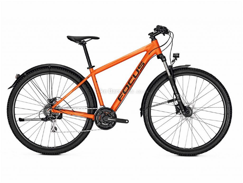 """Focus Whistler 3.5 EQP Alloy Hardtail Mountain Bike 2020 XL, Orange, Alloy Frame, 24 Speed, Disc Brakes, 29"""" Wheels, Hardtail, 16.6kg"""
