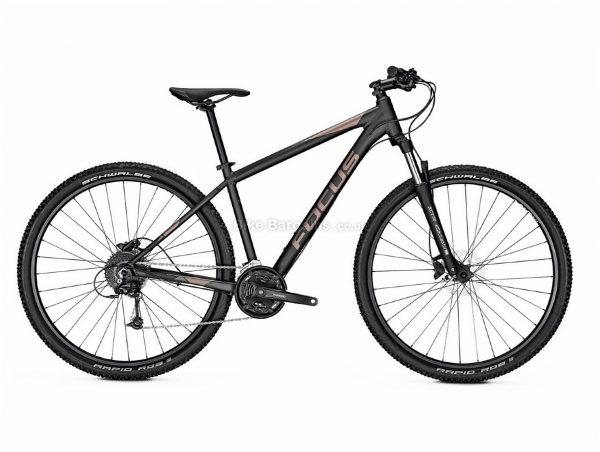 """Focus Whistler 3.6 Alloy Hardtail Mountain Bike 2020 XS, Black, Alloy Frame, 27 Speed, Disc Brakes, 27.5"""" or 29"""" Wheels, Hardtail, 14.7kg"""