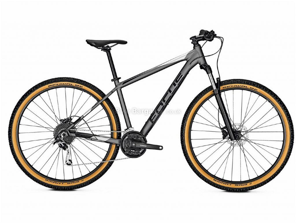 "Focus Whistler 3.7 Alloy Hardtail Mountain Bike 2020 XS,S, Grey, Alloy Frame, 27 Speed, Disc Brakes, 27.5"" or 29"" Wheels, Hardtail, 14.4kg"
