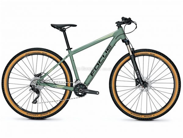 Focus Whistler 3.8 Alloy Mountain Bike 2020 M, Grey, Alloy Frame, Disc, 10 Speed, Single Chainring, Hardtail