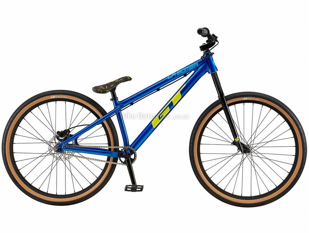 GT LaBomba Alloy Mountain Bike 2020 One Size, Blue, Alloy Frame, Disc, 1 Speed, Single Chainring, Hardtail