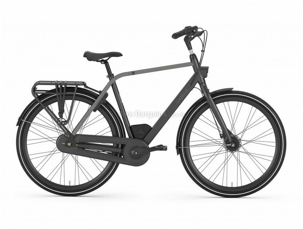 Gazelle CityGo C7 Alloy City Bike 2020 49cm, Black, Alloy Frame, 7 Speed, Disc Brakes, 700c Wheels, Hardtail, 18.6kg