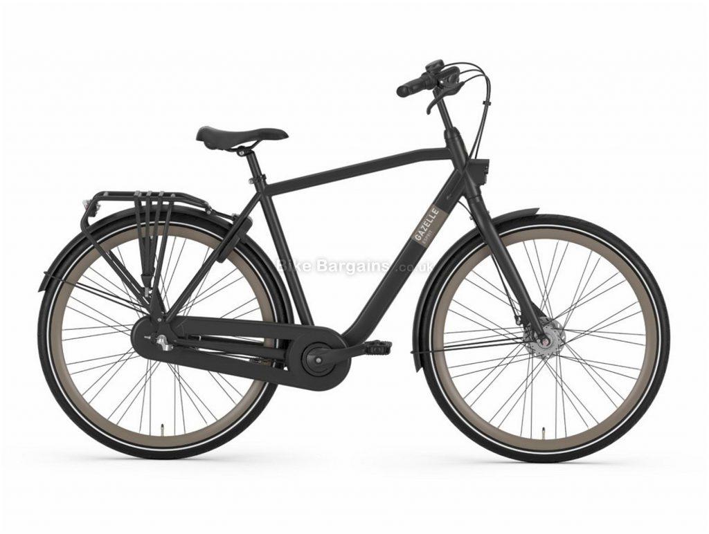 Gazelle Esprit T3 Alloy City Bike 2020 59cm, Black, Alloy Frame, 3 Speed, Disc Brakes, 700c Wheels, Hardtail