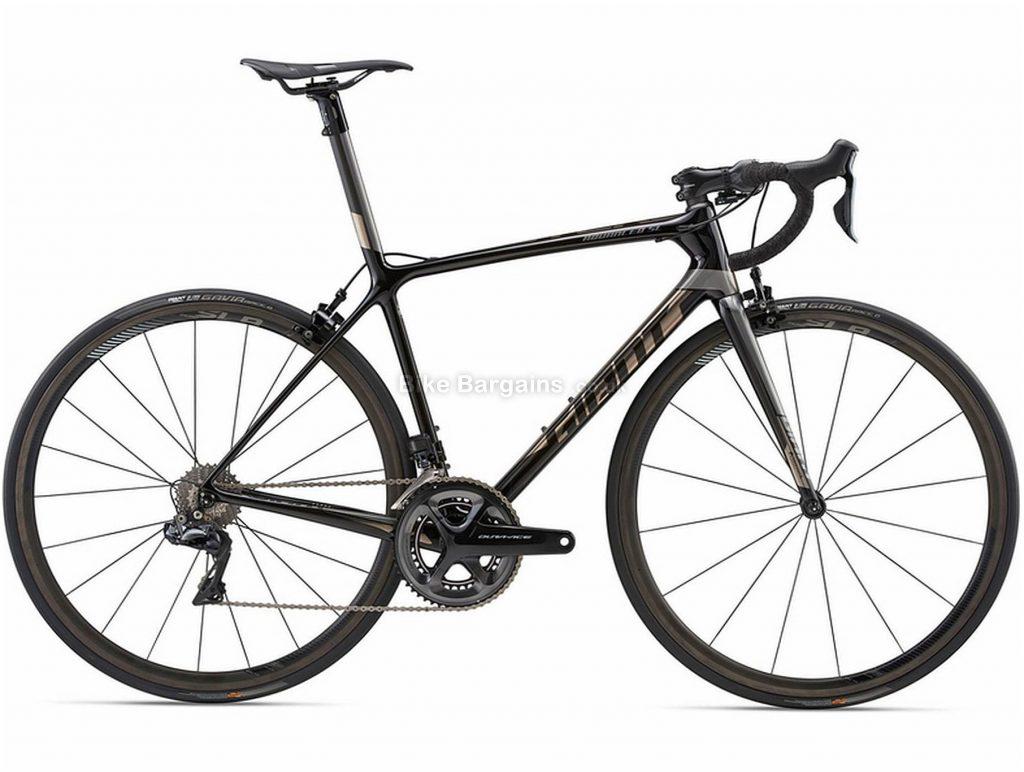 Giant Tcr Advanced Sl 0 Dura-Ace Road Bike 2018 M, Black, Carbon Frame, Fork, Seatpost, Men's, 700c, Double Chainring, Caliper Brakes, 11 Speed, Carbon
