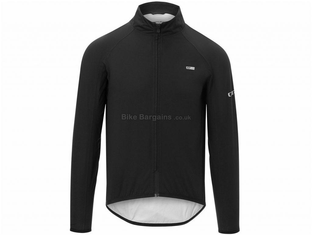 Giro Chrono Expert Rain Jacket S, Black, Men's, Long Sleeve, Polyamide