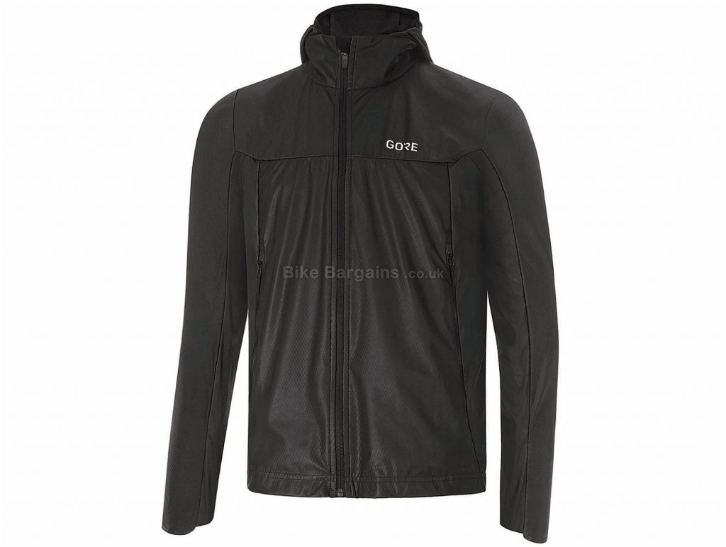 Gore R5 GT Infinium Soft Lined Jacket S, Black, Windproof, Breathable, Men's, Long Sleeve, Polyester