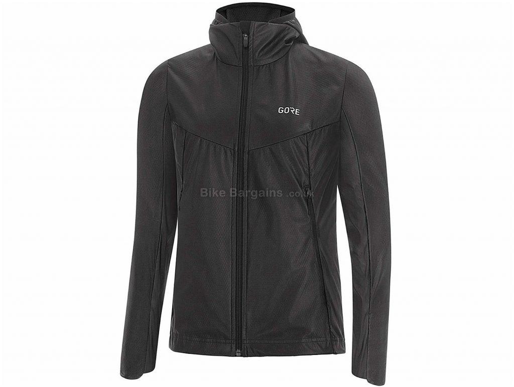 Gore R5 Ladies GT Infinium Soft Lined Jacket XS, Black, Water Resistant, Ladies, Long Sleeve, Polyester