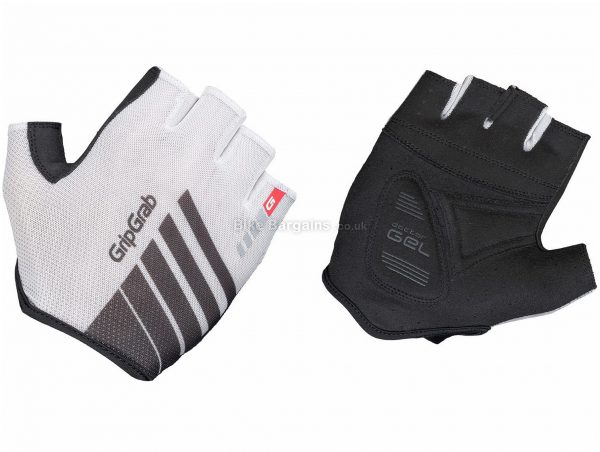 GripGrab Roadster Mitts S, White, Black, Breathable, Mitts, Men's, Polyester, Elastane, Polyamide