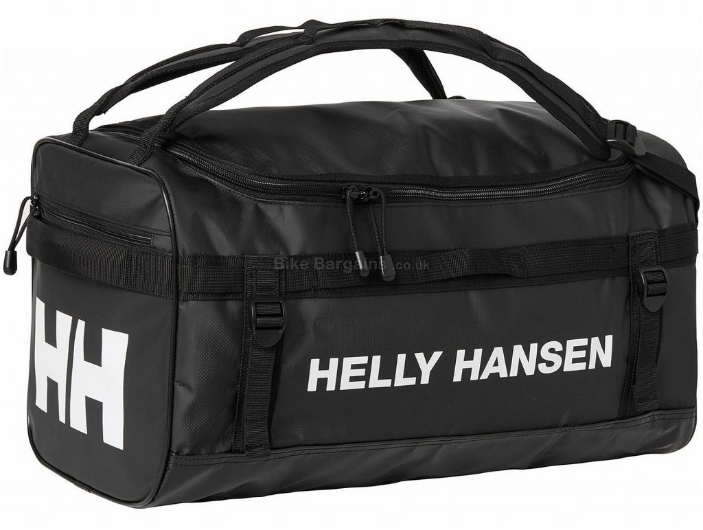 Helly Hansen Classic Extra Small Duffle Bag 30 Litres, Black, Polyester, Holdall