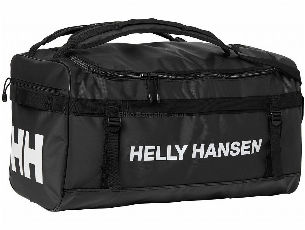 Helly Hansen Classic Large Duffle Bag 90 Litres, 70cm, 35cm, Black, Polyester, Holdall