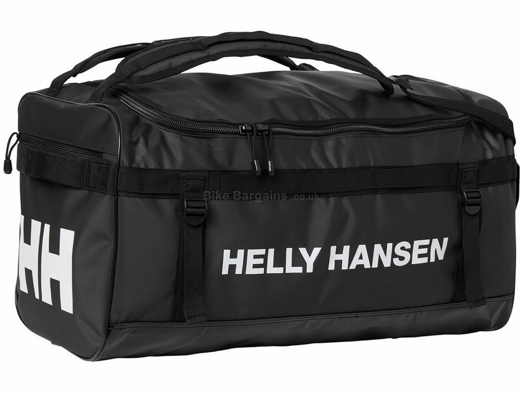 Helly Hansen Classic Medium Duffle Bag 70 Litres, Black, Blue, Red, Polyester, Holdall