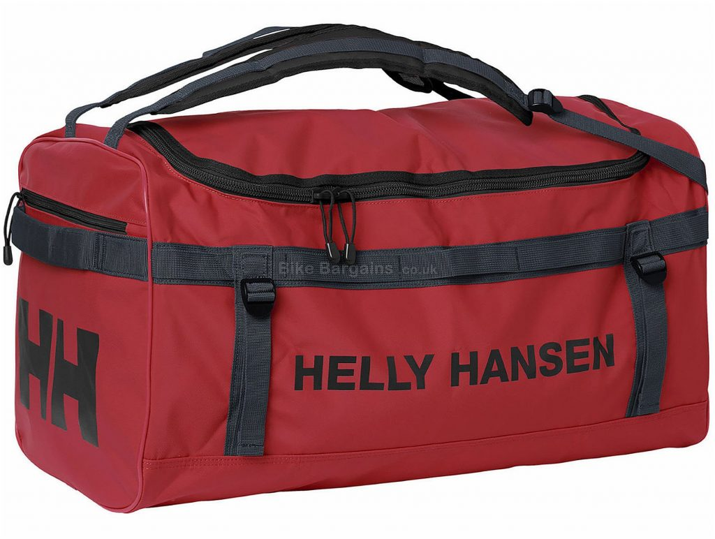 Helly Hansen Classic Small Duffle Bag 50 Litres, Red, Polyester, Holdall