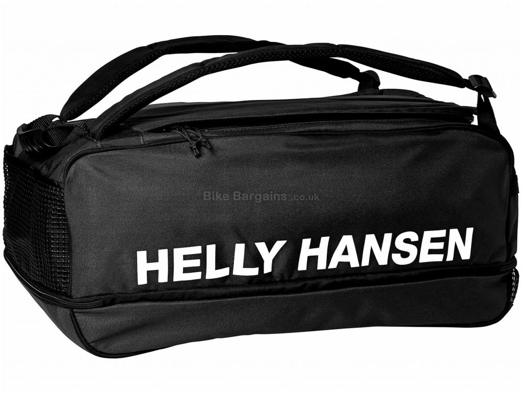 Helly Hansen Racing Bag 44 Litres, Black, Blue, Polyester, Holdall