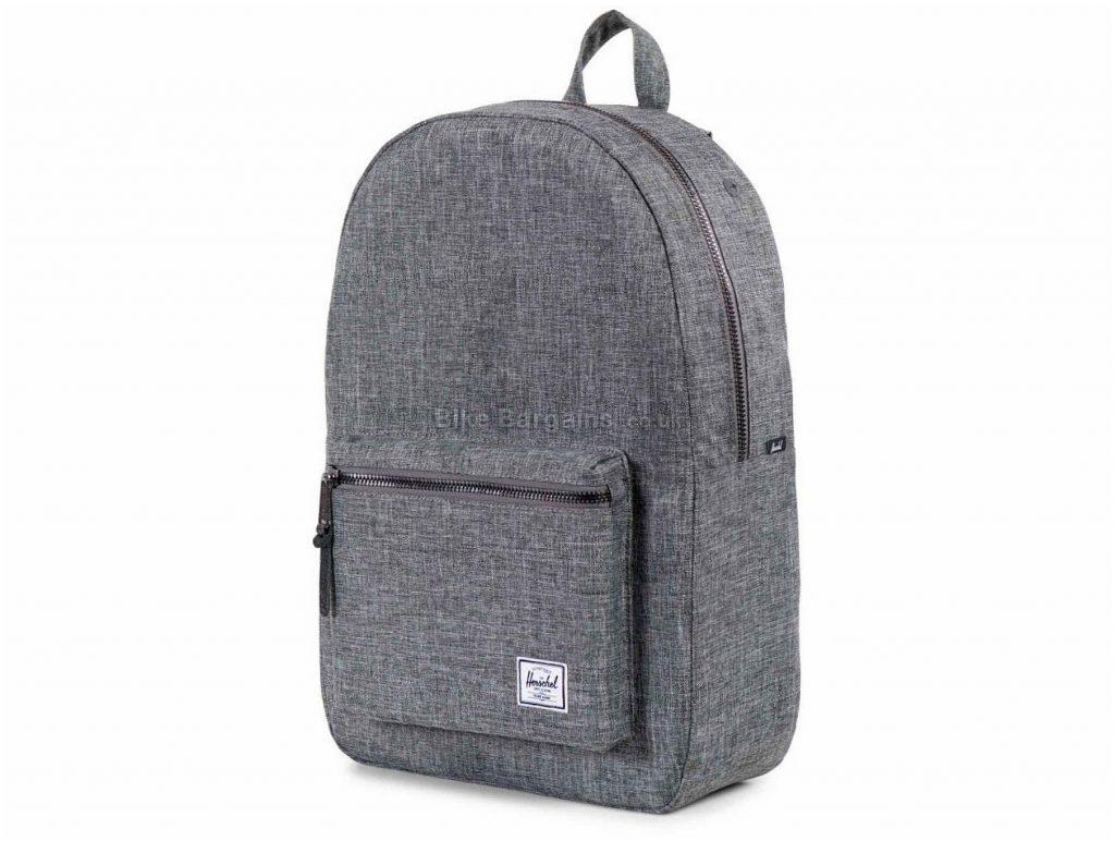 Herschel Settlement Backpack 23 Litres, Brown, 45cm, 31cm, 14cm, Polyester, Leather