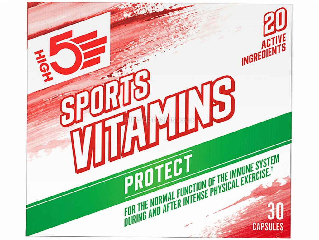 High5 Sports Vitamins 30 Pack 30 pack, White, Green, Red
