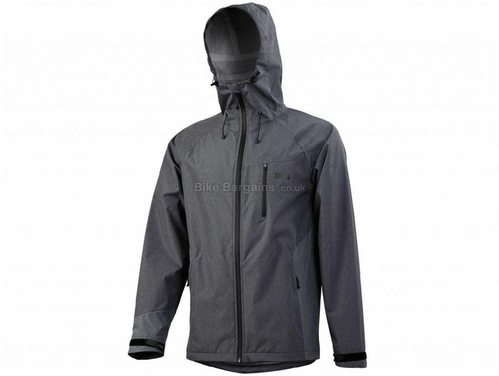 IXS Winger 7.1 Jacket S,M,L, Grey, Waterproof & Breathable, Long Sleeve, Men's, Polyester