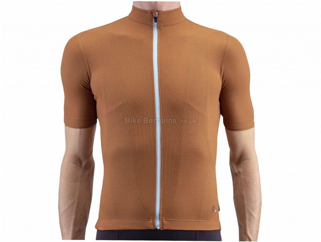 Isadore Woolight Short Sleeve Jersey XS, Black, Slim Fit Cut, Short Sleeve, Polyester, Merino, Wool