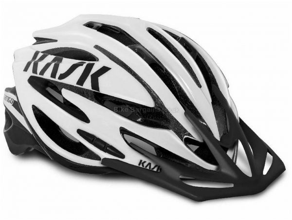 Kask Vertigo XC MTB Helmet L, White, Accurate Adjustment System, Men's, Ladies, 25 vents, 270g, Polycarbonate