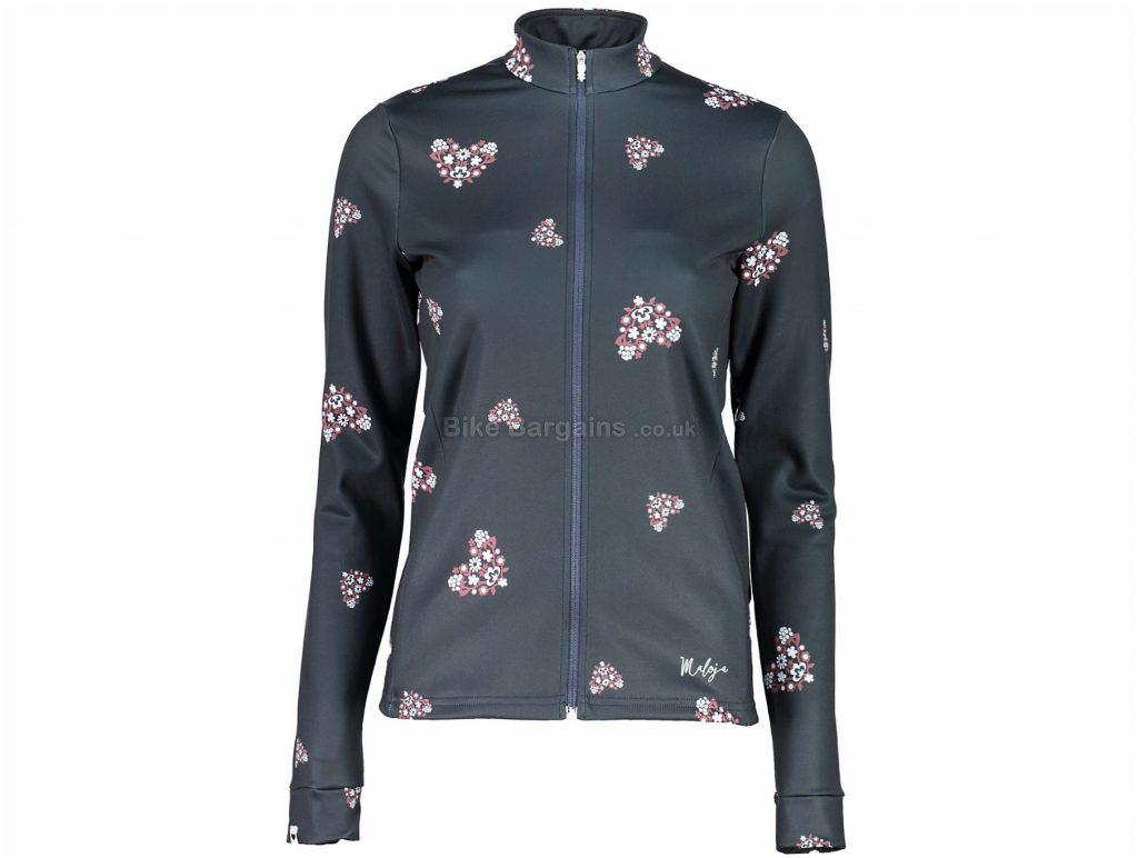Maloja Ladies PauM. Multisport Long Sleeve Jersey S, Grey, Thermal, Ladies, Long Sleeve, Polyester, Elastane