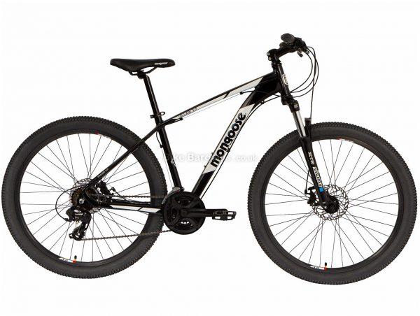 Mongoose Villain 2 Alloy Mountain Bike 2020 S,M,L, Black, Alloy Frame, Disc, 24 Speed, Triple Chainring, Hardtail