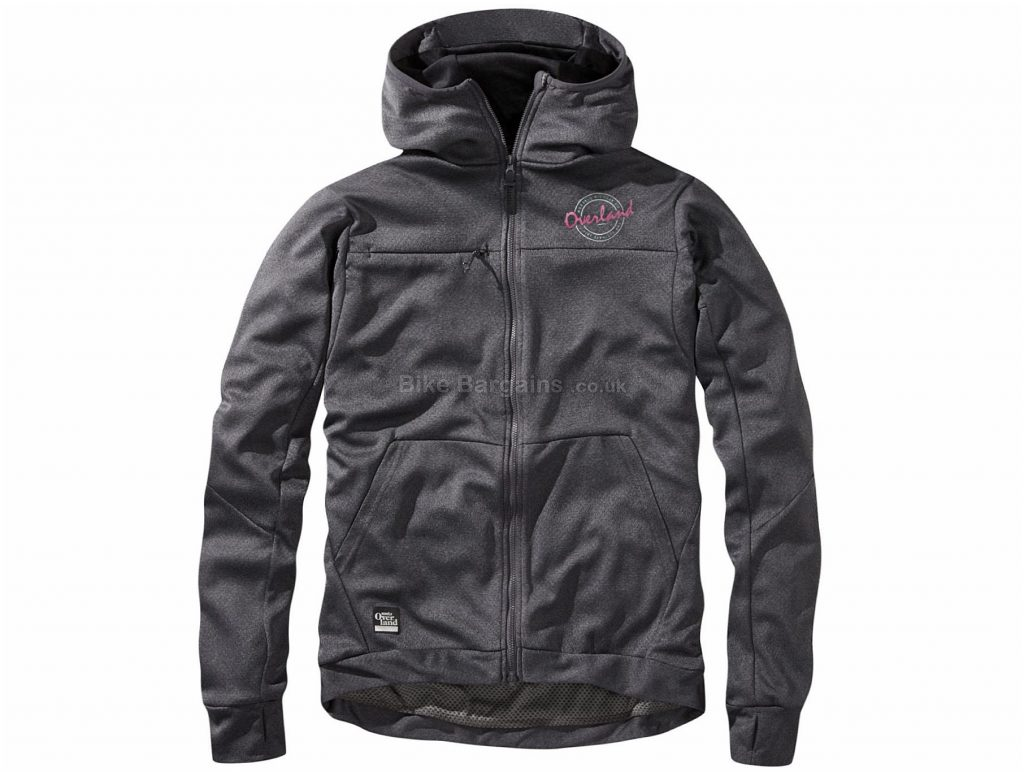 Morvelo Overland Trip Mountain Hoodie S, Grey, Rear Zipped Pockets, Long Sleeve, Polyester