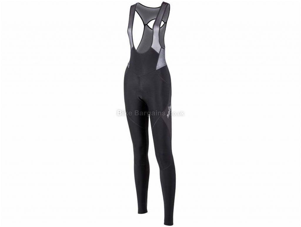 Nalini Ladies AHW Bib Tights XL, Black, Weatherproof, Ladies, Polyamide, Elastane