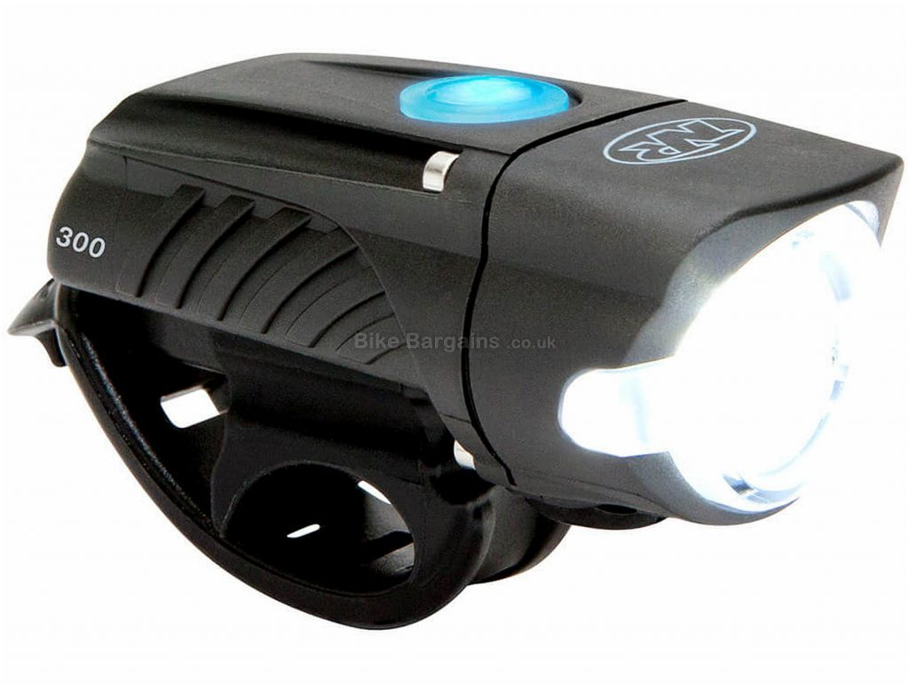 Niterider Swift 300 Front Light 300 Lumens, Black, 5 Modes, Front, 82g, Plastic